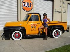 1955 Ford F-100 Step Side Pick up...Re-pin brought to you by agents of #Carinsurance at #HouseofInsurance in Eugene, Oregon...Call for a Quote 541-345-4191