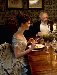 Felicity Jones as Emily Dalrymple in Hysteria (2011).