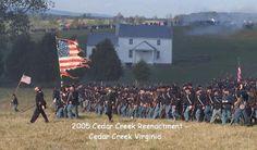 Battle of Cedar Creek--Virginia