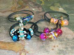 Lampwork bracelets