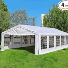 Quictent Heavy Duty Carport Party Wedding Tent Canopy Gazebo Car Shelter ** Check this awesome product by going to the link at the image. (This is an affiliate link) Party Tents For Sale, Tent Sale, Best Tents For Camping, Tent Camping, Family Camping, Outdoor Gazebos, Outdoor Structures, Outdoor Decor, Car Shelter