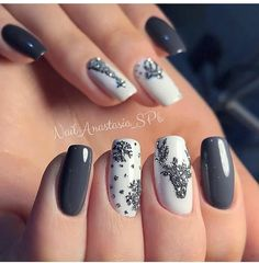 Newest Christmas Nail Art Ideas For 2019 – Page 6 of 6 – Vida Joven – Newest Christmas Nail Art Ideas For 2019 – Page 6 of 6 – Vida Joven – Christmas nails. Christmas Gel Nails, Christmas Nail Art Designs, Winter Nail Designs, Holiday Nails, Xmas Nail Art, Christmas Nail Stickers, New Years Nail Designs, New Year's Nails, Fun Nails
