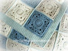 Just made with love by Antoinette: Deken Sofie Blanket