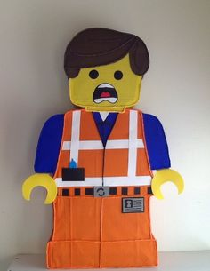 The Lego Movie Pinata. The Lego Movie Birthday by aldimyshop, $28.00