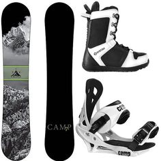 8acbe327f85 Camp Seven 2019 Valdez Snowboard Summit Bindings  amp  APX Boots Men s  Complete..
