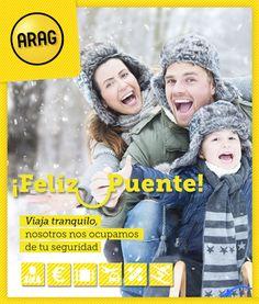 ¡Te deseamos un Feliz Puente y que lo disfrutes con los que más quieres! ⛄ #FelizPuente https://www.arag.es/productos/viaje/seguro-viaje/ 🎿 https://www.arag.es/productos/viaje/esquiadores/