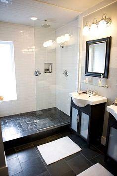 love glass showers, love windows in bathrooms #home #decor #bathroom annaraella