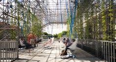 Urban Scaffolding // Andamio Urbano // Schaustelle / J. Mayer H. Architects