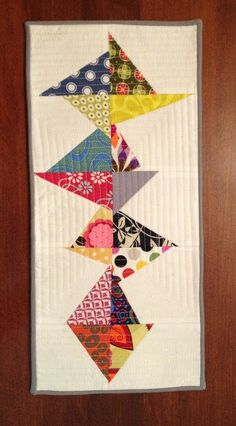 the creekside quilter: Stitch n Flip Mini