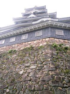 岡山城 天守下石垣 2014.09.04