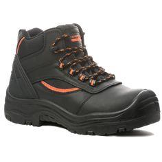 Παπούτσια Ασφαλείας – Ανδρικά - Γυναικεία, παπούτσια Ανατομικά, Αδιάβροχα, Αντιολισθητικά, Αντιστατικά, με ασφάλεια πέλματος και δακτύλων (S1P, S3, S3SRC) και ακόμα μεγαλύτερη ποικιλία σε παπούτσια αθλητικά με ασφάλεια, καθώς επίσης και παπούτσια ελαφριά εργασίας σε μοναδικές τιμές μόνο στην Pegasosafety Θεσσαλονίκη.  Μποτάκια Εργασίας S3 Coverguard 9PEAH είναι κατασκευασμένα από δέρμα Nubuk με πολυεστερικά μπαλώματα που επιτρέπουν τη διαπνοή του ποδιού.