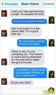 Superhero Texts, Avengers Texts, Avengers Comics, Funny Marvel Memes, Marvel Jokes, Funny Comics, Marvel Comic Universe, Comics Universe, Marvel Cinematic Universe