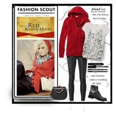 """""""L.L. Bean Cable Sweater, Zip-Front Hoodie"""" by affton ❤ liked on Polyvore featuring Chloé, Zoe Karssen, D'Albert, Fendi and Mint Velvet"""