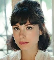 Image result for heavy bangs with short hair
