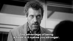 ... Gregory House, Dr House Quotes, Tv Show House, Everybody Lies, Best Movie Quotes, Favorite Quotes, Funny Quotes, Intj Personality, Hugh Laurie