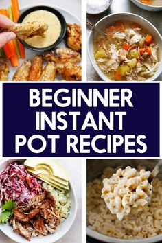 Just bought an Instant Pot and don't know where to start? We've gathered up 12 of our best (and most delicious) Easy Instant Pot Recipes for beginners, ranging from breakfast to dinner!