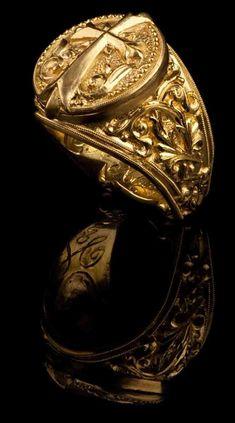 J. Chapa Hernandez | Byzantine Cross Ring GR-610 - MEN'S RINGS | Bellevue, WA