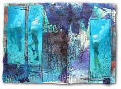Beautiful page Marit's Paper World, via Flickr