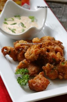 Crawfish Fritters with Spicy Remoulade Sauce. Step-by-step photo ...