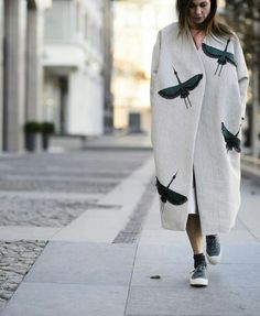Новини - TOTALLY AWESOME!! - SUCH A CREATIVE & ATTRACTIVE WAY TO KEEP COZY & WARM!! (Can you imagine how much wear this would get!!) JUST FABULOUS!!