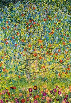 Gustav Klimt (Apple Tree)