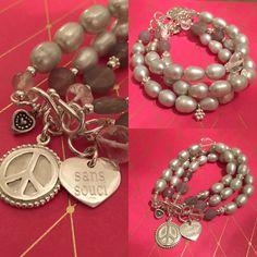 Perlenarmband mit Silberelementen. #verliebtinperlen #perlenschmeicheln #armbandnachwunschgefertigt #unikat #glanzreichhamburg