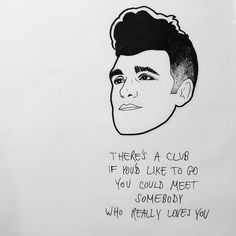 Morrissey drawing