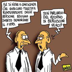 La Vignetta d'Autore di Vukic: molestatori seriali…