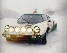 Sandro Munari, Lancia Stratos, Rally Monte Carlo 1975. Monte Carlo, Retro Cars, Vintage Cars, Sport Cars, Race Cars, Lancia Delta Integrale, Rally Raid, Supersport, Car Posters