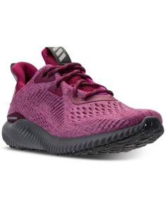 b7d73075d14a3 adidas Women s Alpha Bounce EM Running Sneakers from Finish Line   Reviews  - Finish Line Athletic Sneakers - Shoes - Macy s