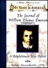 The Journal of William Thomas Emerson, a Revolutionary War Patriot (Dear America Series)