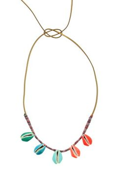 Collier coquillages Aurélie Bidermann