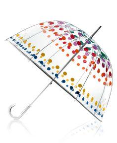 Totes Umbrella, Bubble - Handbags & Accessories - Macy's from Macys. Saved to For the Land of Rain. Totes Umbrella, Bubble Umbrella, Under My Umbrella, Clear Umbrella, Pagoda Umbrella, Umbrella Art, Umbrella Shop, Colorful Umbrellas, Umbrellas Parasols