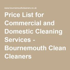List of 37 catchy house cleaning slogans catchy slogans price list for commercial and domestic cleaning services bournemouth cleaners fandeluxe Images