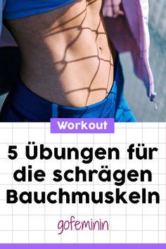 Du willst einen flachen Bauch und eine schmale Taille? Dann solltest du DIESE 5 Übungen 3 Mal die Woche machen! #bauchübungen #bauchchallenge #bauchtrainieren #flacherbauch #schlanketaille #tailletrainieren #workout #übungen