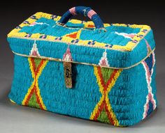 Sioux Lunch Basket, 1912.