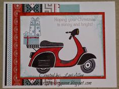 Snowhaven Card with Make It Merry stamp set