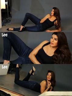 Jacqueline. Fernandez for Lee Jeans India photoshoot