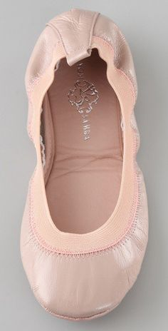 Yosi Samra flats in blush ~