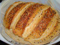 Félbarna kenyér :: Ami a konyhámból kikerül Hot Dog Buns, Hot Dogs, Bread Rolls, Bread Recipes, Food, Rolls, Buns, Essen, Eten