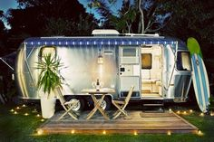 Now this is glamping!
