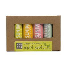 Variety, Green Tea Mints, Gift Set of 8 Eco-Tubes