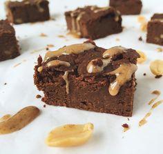 vegane, glutenfreie Kichererbsen Brownies – iwannabefree4e