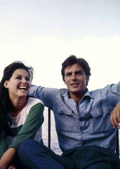 Claudia CARDINALE & Alain DELON