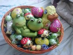 selfmade easterbasket for my family <3