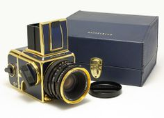 Hasselblad 503CX Golden Blue Edition 50th anniversary