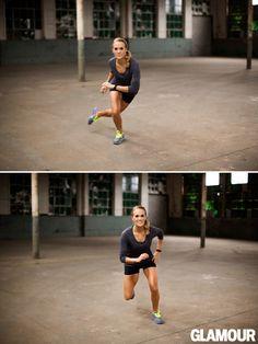 Carrie Underwood's Leg Workout: Skater Hops