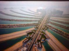 Palmový poloostrov v Dubaji