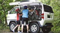 Ultimate mountain bike Van