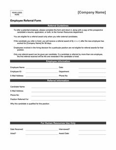 employee referral form template word - Boat.jeremyeaton.co